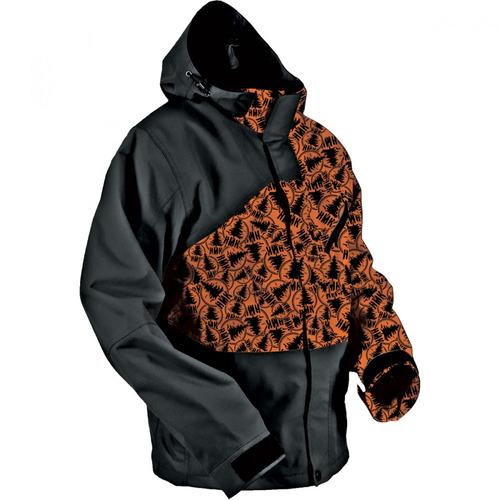 chaqueta para nieve hmk hustler 2 para hombre md naranja