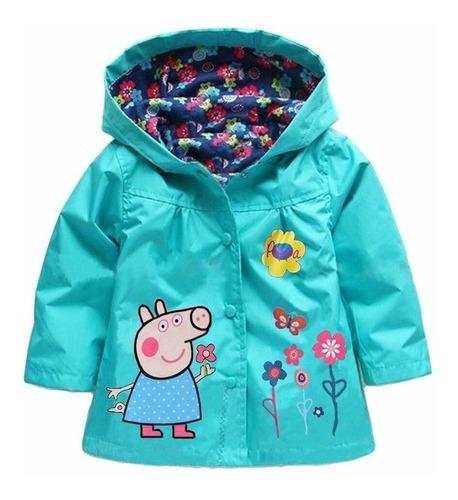 chaqueta peppa pig impermeable