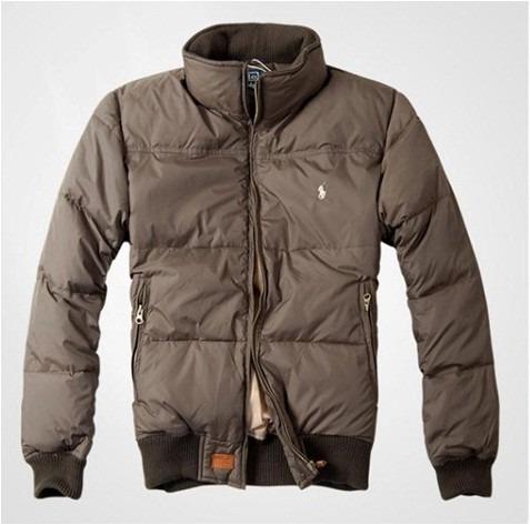 chaqueta pluma de ganso polo ralph original hombre importada