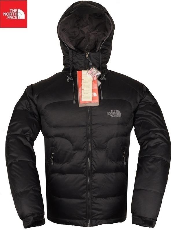 chaqueta north face hombre negra