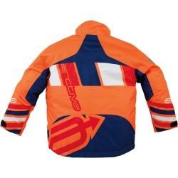 chaqueta p/nieve arctiva comp juvenil azul/naranja 3/4