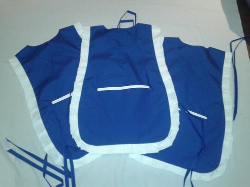 chaqueta poncho (empleada domestica, panaderia y otros)