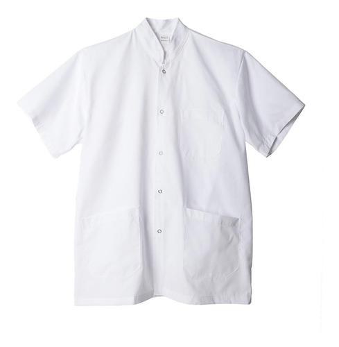 chaqueta profesional rufer c/mao m/corta blanca xxl-al-xxxl
