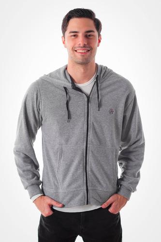 chaqueta pulover con capucha