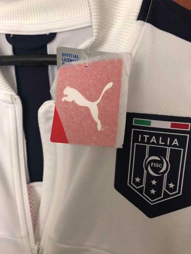 chaqueta puma selección italia, original talla l. nueva