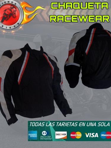 chaqueta racewear air tech verano