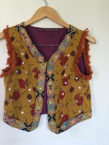 chaqueta rapsodia bordada