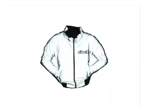 chaqueta reflectiva cortavientos para moto o cicla