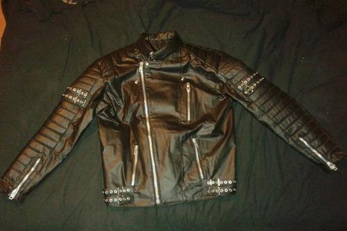 chaqueta rockera motoquera ramones xl nueva 30.000 ecocuero
