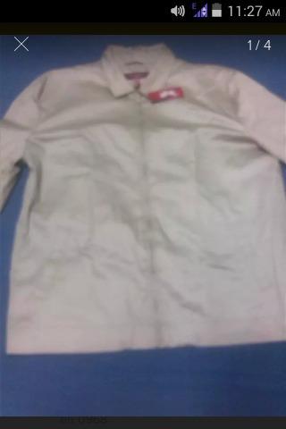 chaqueta rori phillipe laurent casual talla xxl