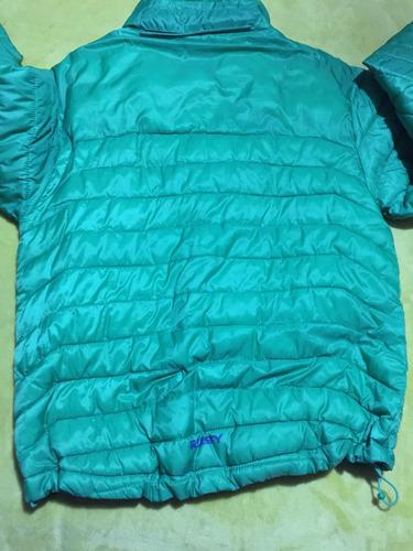 chaqueta rusty tech pluma