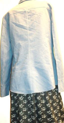 chaqueta saco mujer victoria talla 3 manga larga