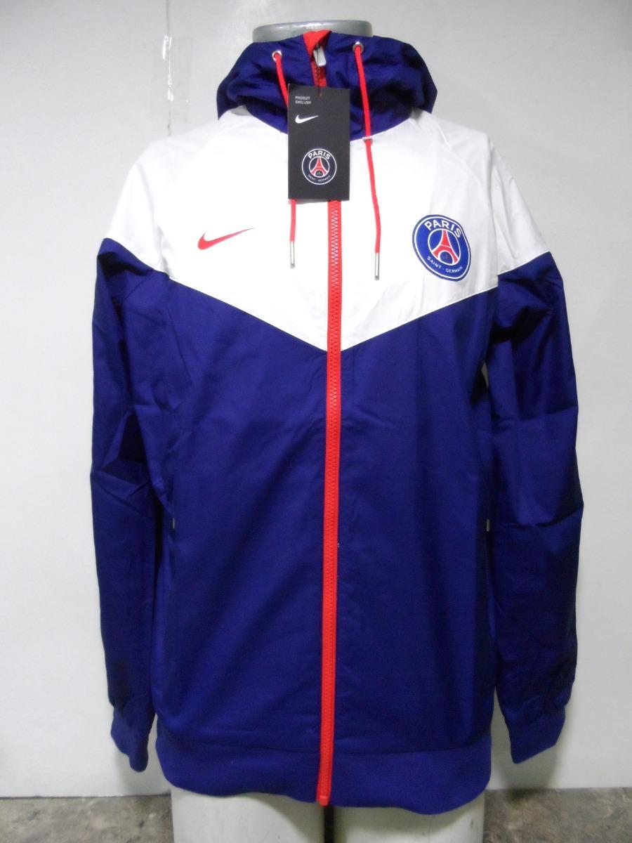Chaqueta Salida Paris Saint Germain 2018 19 Nike Azul Nueva
