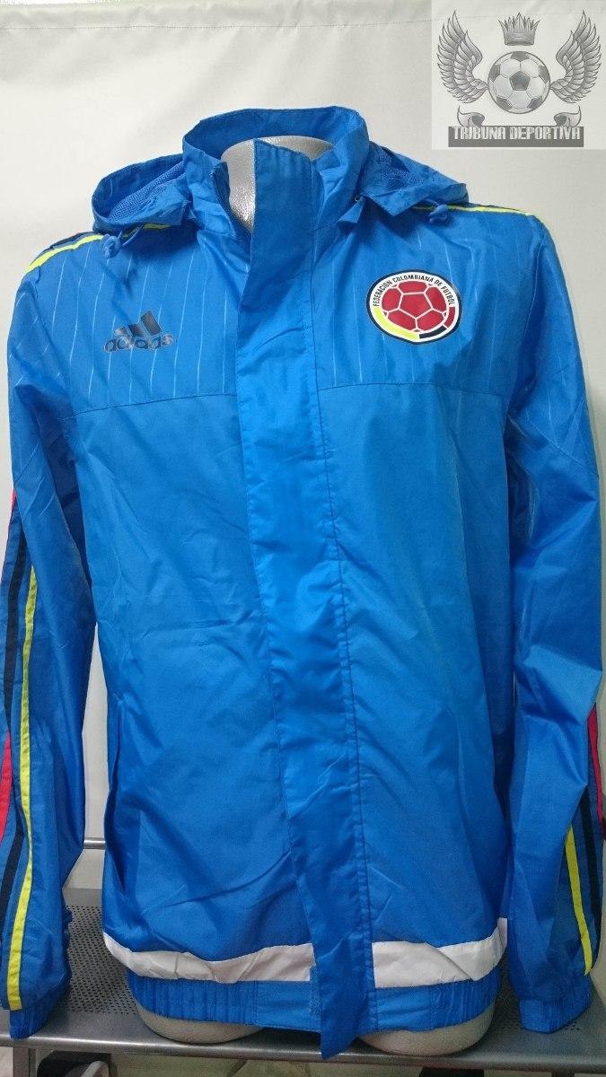 chaqueta seleccion colombia oficial 2015 entrenamiento azul. Cargando zoom. 4b3579fd1086f