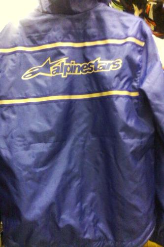 chaqueta semi impermeable corta viento para motos s m l xl