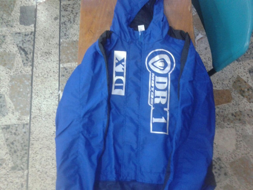 chaqueta semi impermeable marca dr1 tallas s m l xl