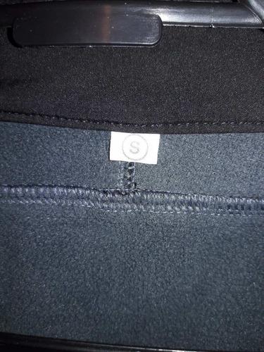 chaqueta softshell nacional talla s