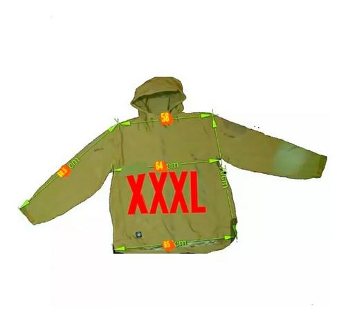 chaqueta softshell tactica con gorro piel de tiburon - lito
