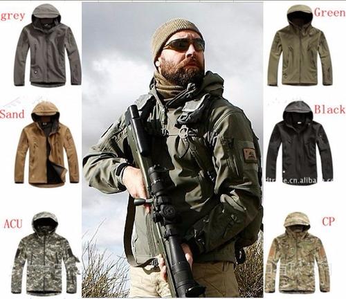 chaqueta softshell tactica militar termica caza outdoor