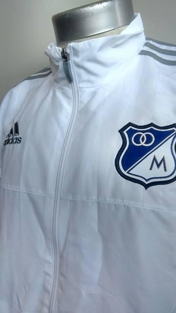 Nueva En 000 2016 32 Millonarios Térmica Blanca Adidas Chaqueta wnfOq61SX