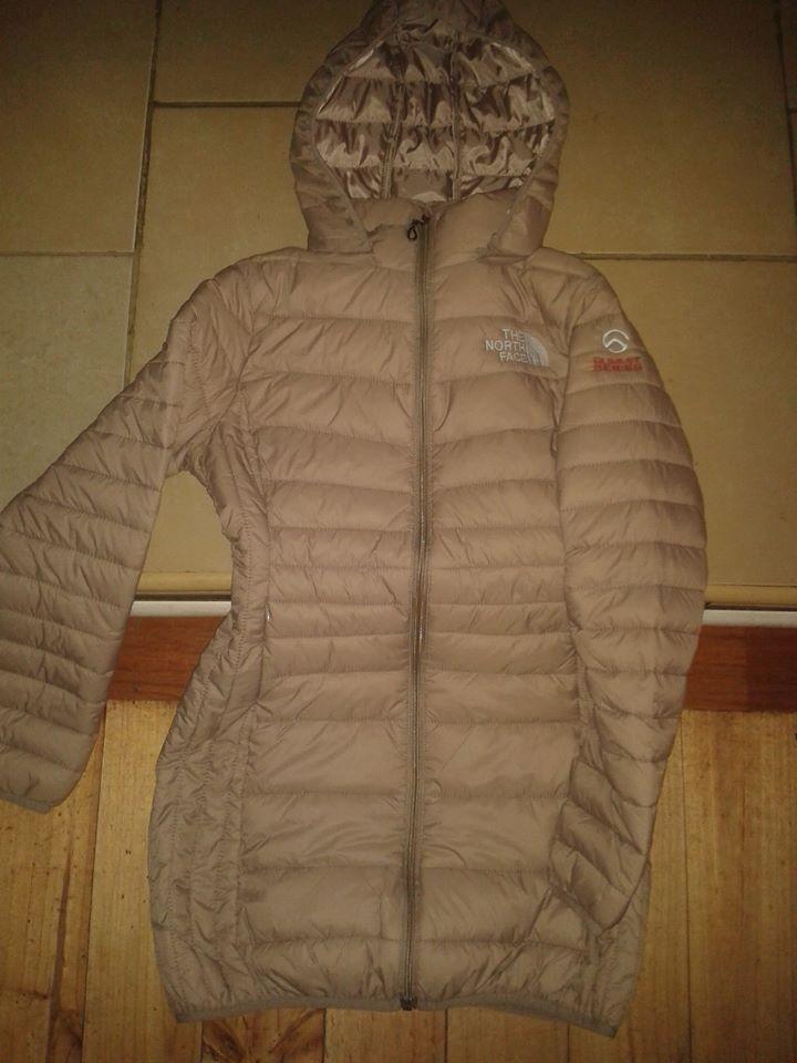 chaqueta north face larga