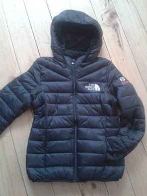 chaqueta north face mujer negra