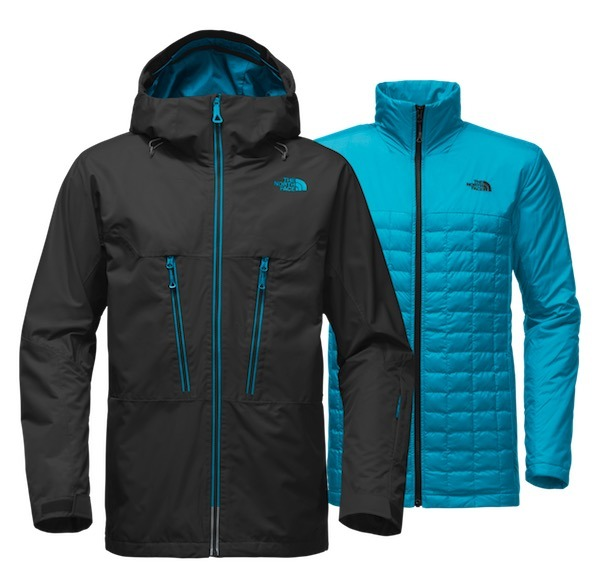 94b2ffff0ef94 Chaqueta The North Face Thermoball Snow Triclimate Negra ...