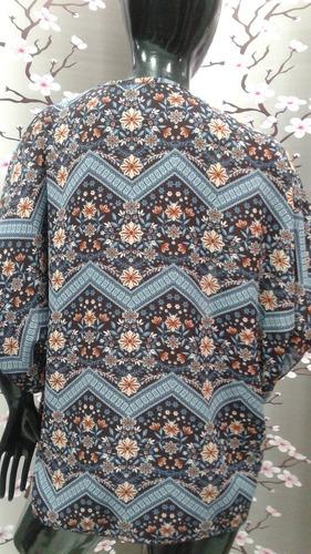 chaqueta tipo kimono - talla s