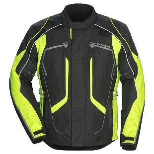 chaqueta tourmaster advanced mujer textil negro/amarillo md