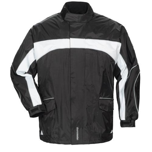 chaqueta tourmaster elite 3.0 para hombre negra/blanca 2xl