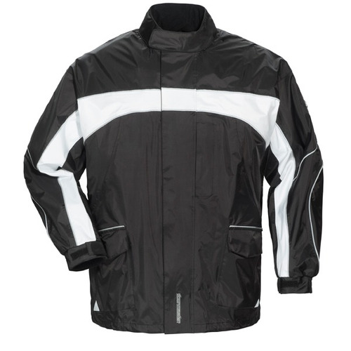 chaqueta tourmaster elite 3.0 p/hombre negra/blanca lg