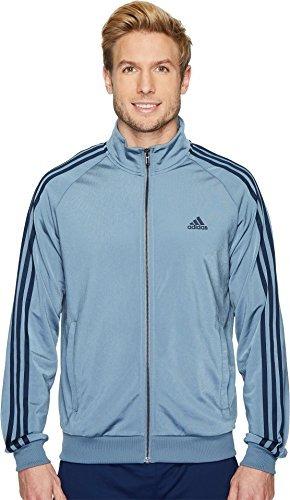 chaqueta tricot adidas hombres 's esencial 3 raya tricot , a