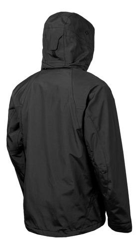 chaqueta typhoon negro doite
