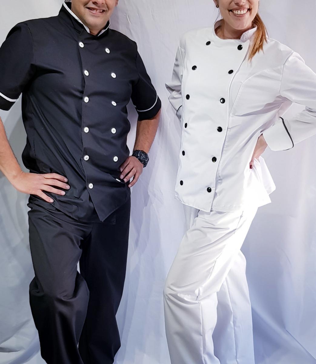En Chaqueta 1 450 Mujer Uniforme Pantalón Chef Hombre Y 00 a7anz