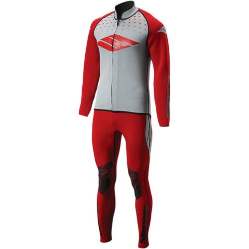chaqueta y pantalón slippery breaker para hombre rojo 3xl