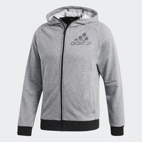 16c63edef7f97 Chaqueta De Cuero Adidas - Chaquetas y Abrigos Hombre en Mercado ...