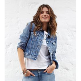 18ad7d1b11eba Chaquetas De Jeans Mujer - Chaquetas y Abrigos Mujer en Mercado ...