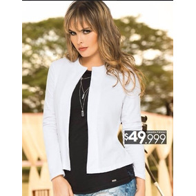 bebfe68873636 Chaquetas Modernas Para Dama De en Mercado Libre Colombia