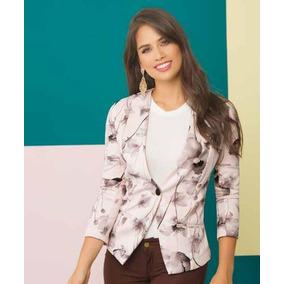e62e253643a58 Blazer Blanco Mujer - Chaquetas y Abrigos Mujer en Mercado Libre ...