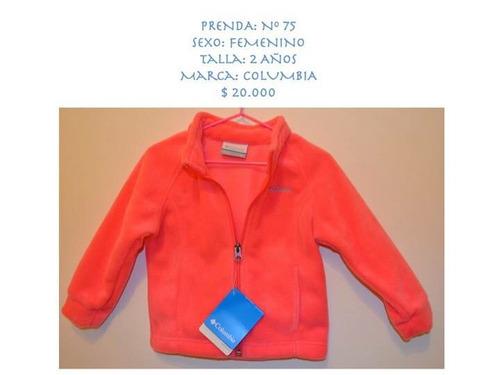 chaquetas columbia niñas-niños