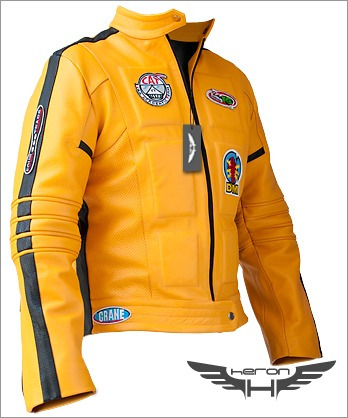 chaquetas cuero heron - dr house, kill bill, war worlds,etc