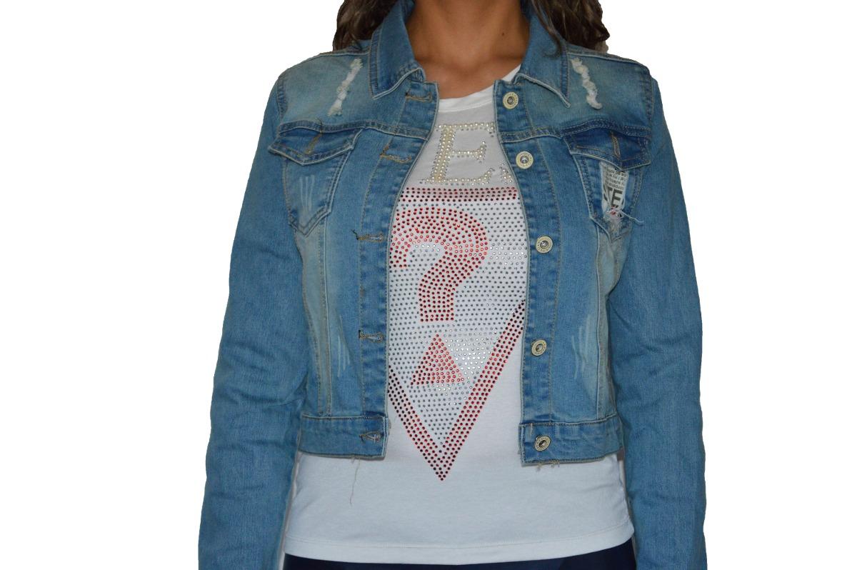 Chaquetas de jean para mujer mercadolibre
