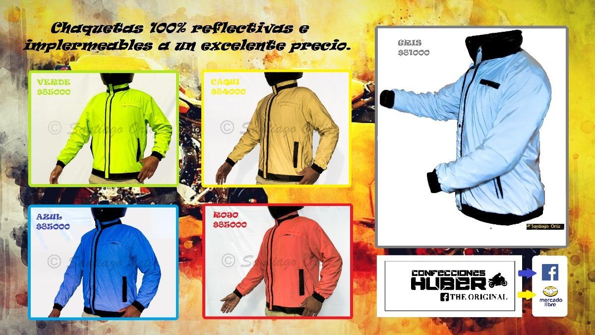 30b2758841a chaquetas impermeables totalmente 100% reflectiva para moto. Cargando zoom.