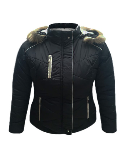 chaquetas mujer impermeable abrigos acolchada kappa joar