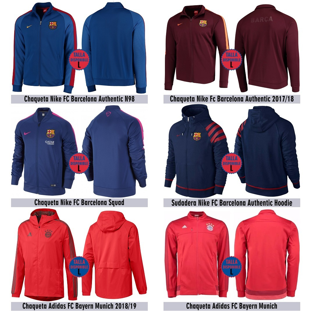 Chaquetas Nike Fc Barcelona   Fc Bayern M - En Stock Talla L - S ... 931c314f6cb