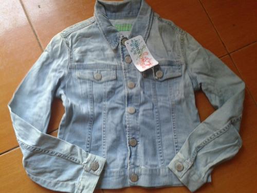 chaquetas sweters de blue jeans para niñas importadas
