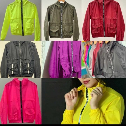 chaquetas tipo bomber semi impermeables