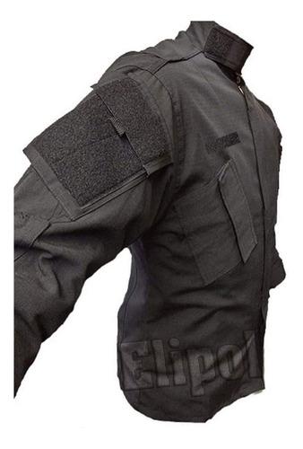 chaquetilla de combate tactica policial corte americano