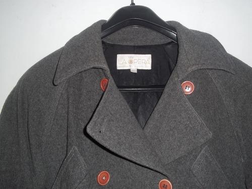 chaqueton gris de la opera xl super cómodo y abrigado!!!!