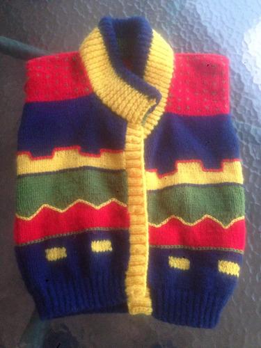 chaquetón lana   artesanal